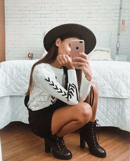 Inspiração: Fotos na frente do espelho