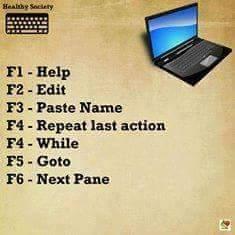 Fungsi - Fungsi Tombol Keyboard