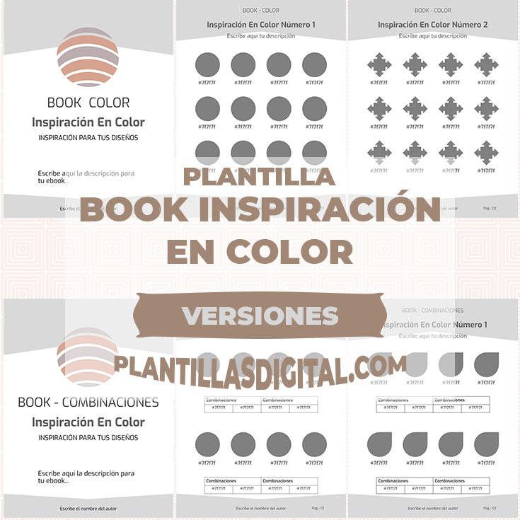 plantillas inspiracion en color versiones post