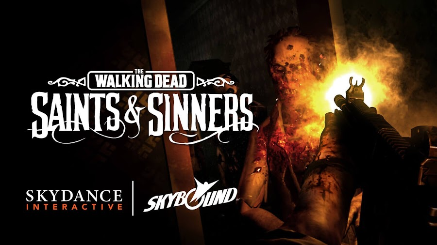 the walking dead saints and sinners vr game gameplay trailer oculus rift skydance interactive skybound entertainment
