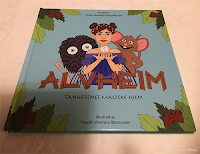 Barneboken Alvheim - Tannfeens  magiske hjem, av  Tonje Mølsted Kristoffersen og  Frøydis  Veronica Rasmussen.