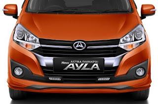 Penampakan Daihatsu Ayla Facelift 2020