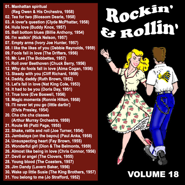 Cd collection Back To The 50's - Rockin' & Rollin' 18 Back