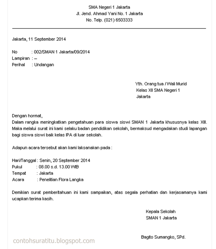Asli Contoh Surat Dinas Perusahaan Swasta Dan Surat Dinas