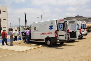 Resultado de imagen para ambulancia de red de salud chilca mala