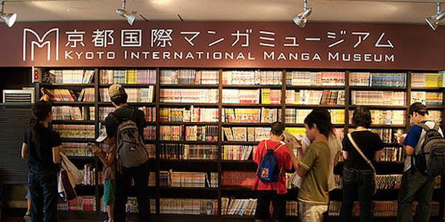 Museum Manga Internasional Kyoto HD