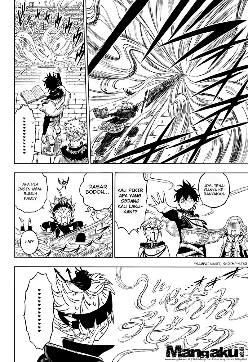 Manga Black Clover Chapter 37 bahasa indonesia