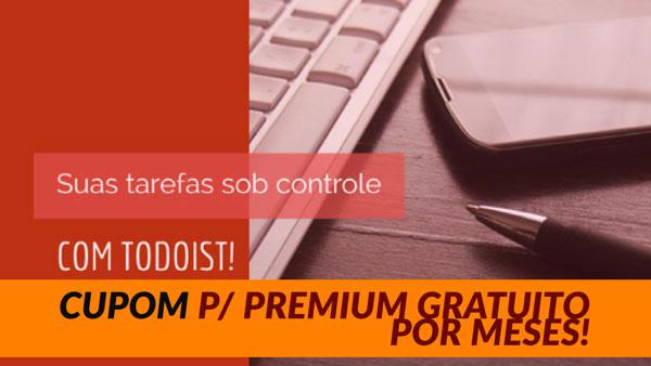 Vários meses de Todoist Premium gratuitos!