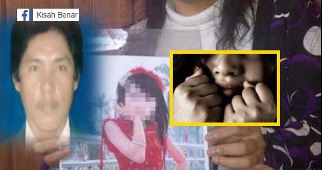 Kisah Benar PENGAKUAN BERANI MATI Anak Perempuan 8 Tahun Dirogol BAPA KANDUNG Selama 4 Bulan