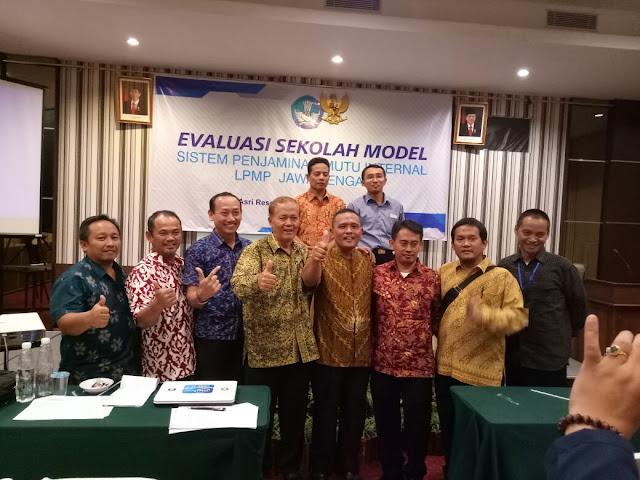 Kegiatan Evaluasi Sekolah Model SPMI Tahun2018