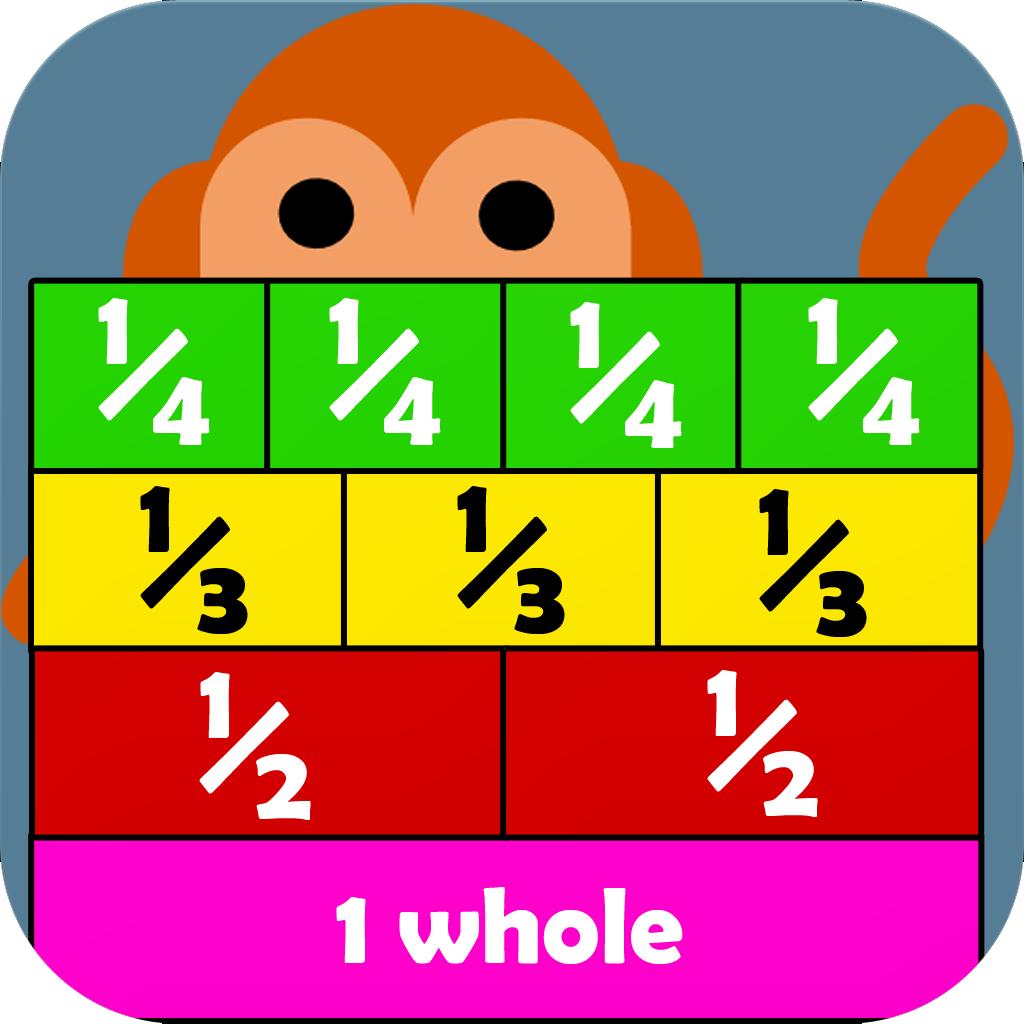 Little Monkey Apps Fraction Wall