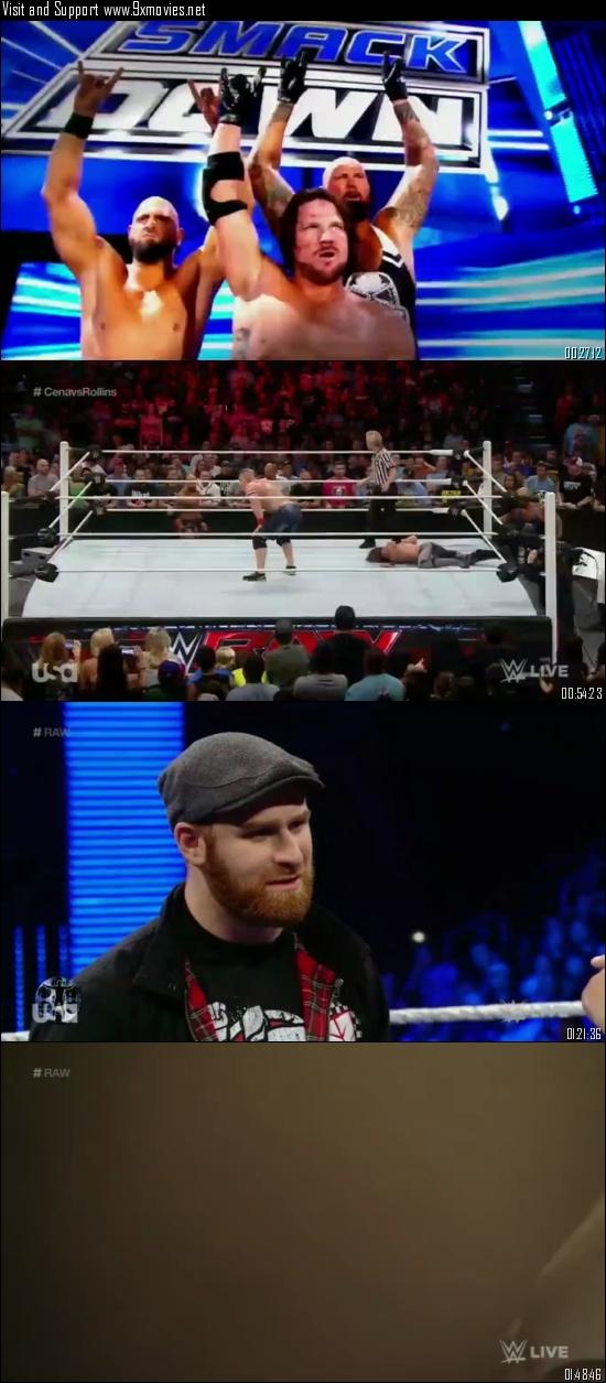 WWE Monday Night Raw 27 June 2016 HDTV 480p