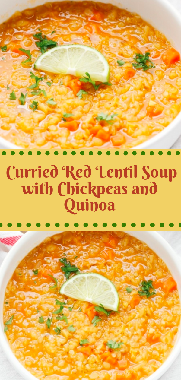 Healthy Recipes | Curried Red Lentil Soup with Chickpeas and Quinoa, Healthy Recipes For Weight Loss, Healthy Recipes Easy, Healthy Recipes Dinner, Healthy Recipes Pasta, Healthy Recipes On A Budget, Healthy Recipes Breakfast, Healthy Recipes For Picky Eaters, Healthy Recipes Desserts, Healthy Recipes Clean, Healthy Recipes Snacks, Healthy Recipes Low Carb, Healthy Recipes Meal Prep,   Healthy Recipes Shrimp, Healthy Recipes Paleo, Healthy Recipes Delicious, Healthy Recipes Gluten Free, Healthy Recipes Keto, Healthy Recipes Soup, Healthy Recipes Beef, Healthy Recipes Fish, Healthy Recipes Quick, Healthy Recipes For College Students, Healthy Recipes Slow Cooker, Healthy Recipes With Calories, Healthy Recipes For Pregnancy, Healthy Recipes For 2, Healthy Recipes Wraps, Healthy Recipes Yummy, Healthy Recipes Super, Healthy Recipes Best, Healthy Recipes For The Week, Healthy Recipes Casserole, Healthy Recipes Salmon, Healthy Recipes Tasty, Healthy Recipes Avocado, Healthy Recipes Quinoa, Healthy Recipes Cauliflower, Healthy Recipes Pork, Healthy Recipes Steak, Healthy Recipes For School, Healthy Recipes Slimming World, Healthy Recipes Fitness, Healthy Recipes Baking, Healthy Recipes Sweet, Healthy Recipes Indian, Healthy Recipes Summer, Healthy Recipes Vegetables, Healthy Recipes Diet, Healthy Recipes No Meat, Healthy Recipes Asian, Healthy Recipes On The Go, Healthy Recipes Fast, Healthy Recipes Ground Turkey, Healthy Recipes Rice, Healthy Recipes Mexican, Healthy Recipes Fruit, Healthy Recipes Tuna, Healthy Recipes Sides, Healthy Recipes Zucchini, Healthy Recipes Broccoli, Healthy Recipes Spinach, #healthyrecipes #recipes #food #appetizers #dinner #curried #soup #chickpeas #quinoa
