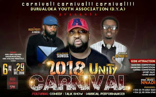 Durualoka Unity Carnival 2018