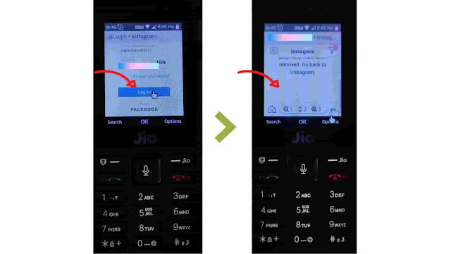 Jio Phone में Instagram कैसे चलाये | How to use Instagram in Jio Phone