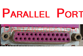 parallel port devices  parallel port function  parallel port vs serial port  serial and parallel ports definition  types of parallel ports  parallel port to usb  parallel port printer  parallel port cable