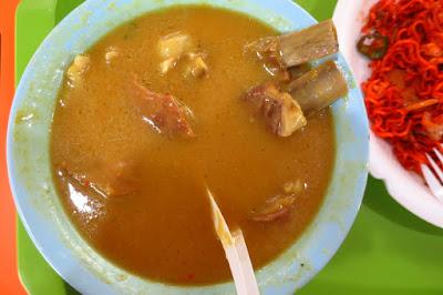 Habib's Power Mee Stall, mutton rib soup