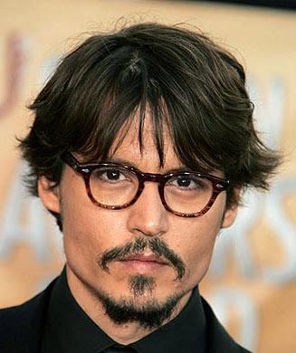 Johnny Depp Hairstyles Men Hairstyles Short Long