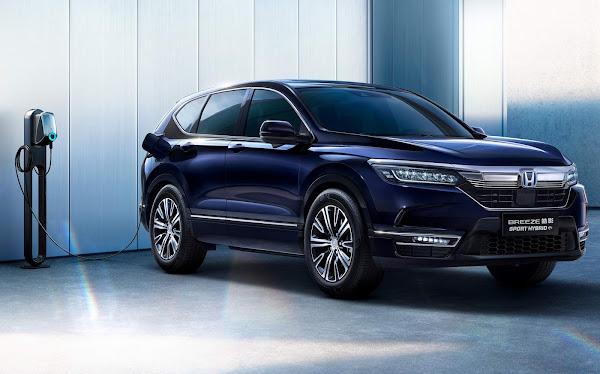 Novo Honda Breeze Plug-in Hybrid é apresentado na China