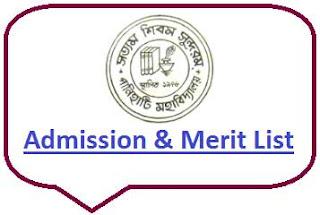 Panihati College Merit List