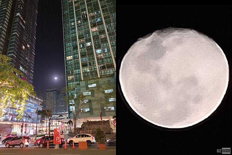 Samsung Galaxy S20 Ultra 100x moon shot zoom range vs the rest