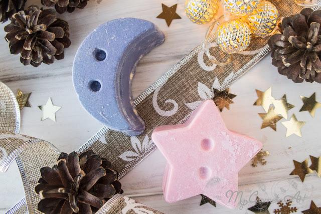Barritas de masaje con sorpresa de Lush: Ediciones Limitadas de Navidad