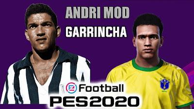PES 2020 Faces Garrincha by Andri Mod