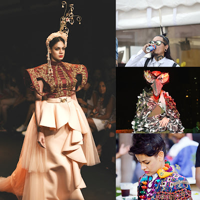 bold, fashion, lakme fashion week 2016, models, designers, photographers, colors, elements of nature