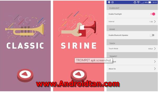 Free Download TROMPET v3.0 Apk Simulator Trompet Tahun Baru 2018