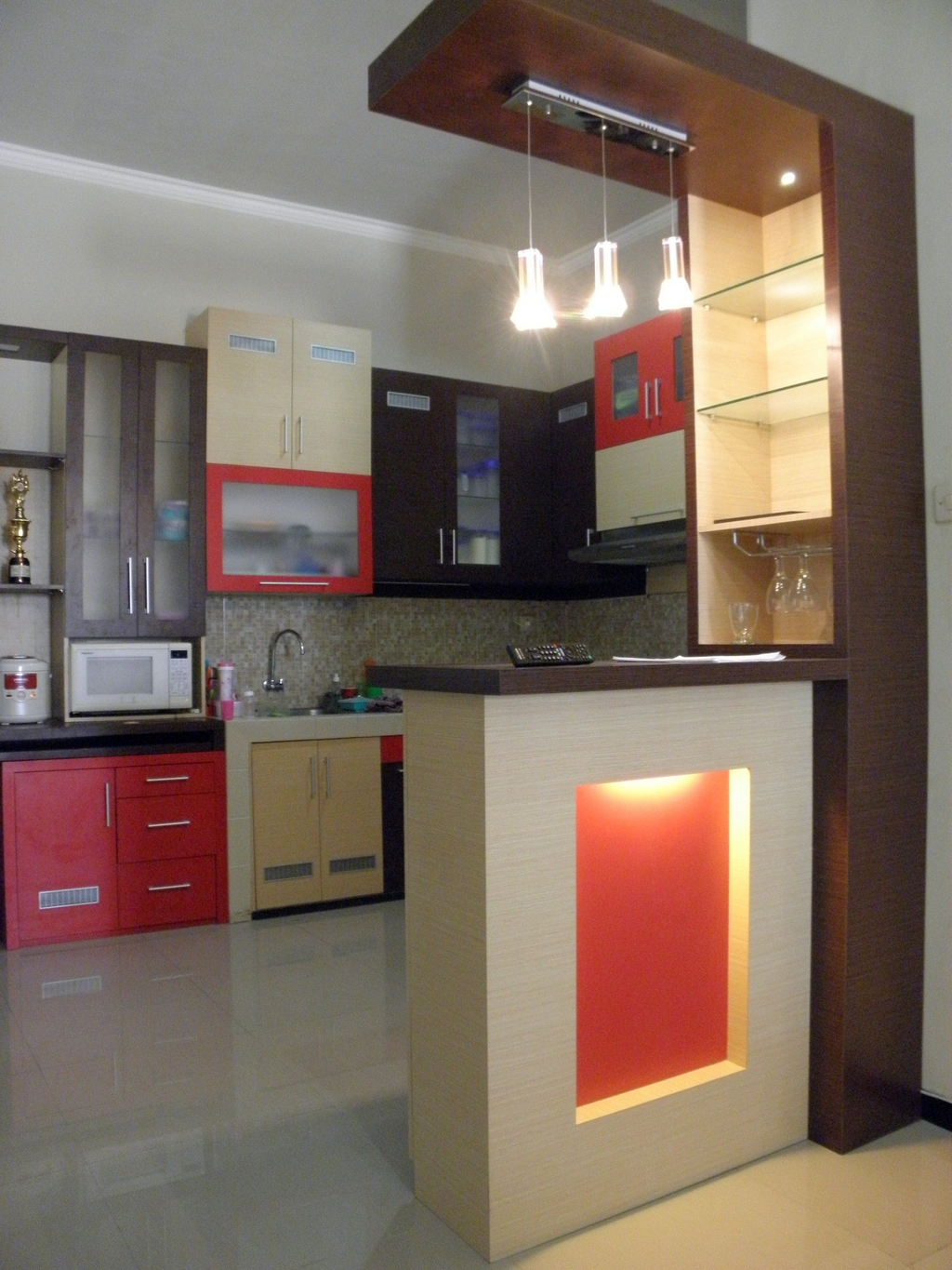 kitchen set dan mini bar 2