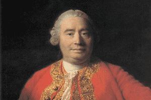 David Hume, destacado filósofo empirista