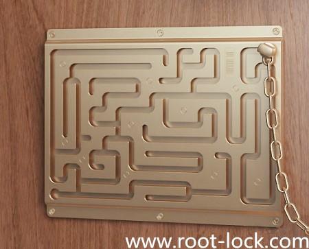CHINA DOOR LOCK FACTORY: A maze of door