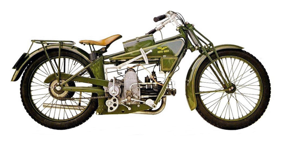 Moto Guzzi Normale 1920 - right/A