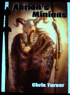Portada del libro Ahrion's Minions, de Chris Turner