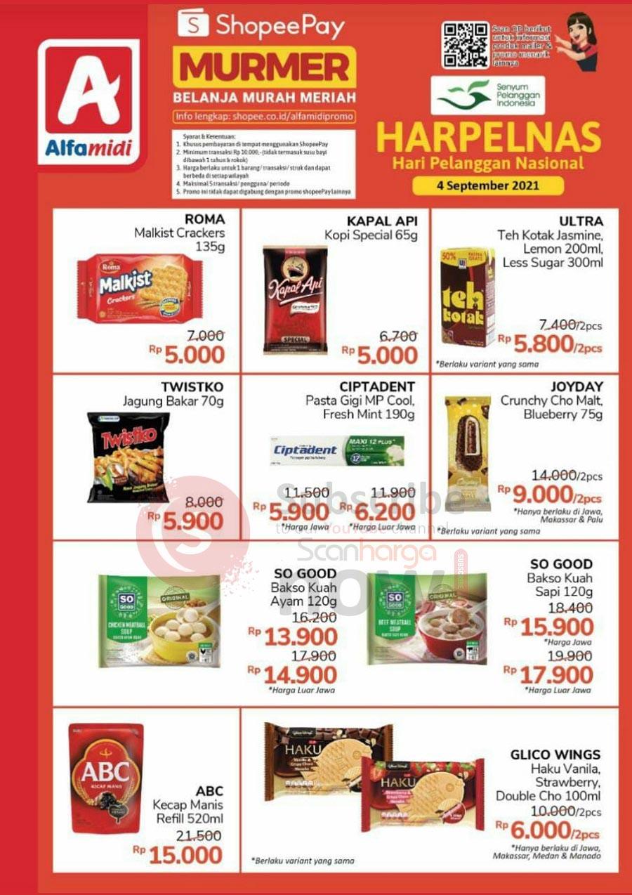 ALFAMIDI Promo SHOPEEPAY MURMER HARPELNAS (Hari Pelanggan Nasional)