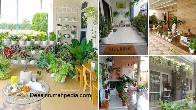Cara Menata Pot Bunga Di Teras Depan Rumah Desainrumahpedia Com Inspirasi Desain Rumah Minimalis Modern