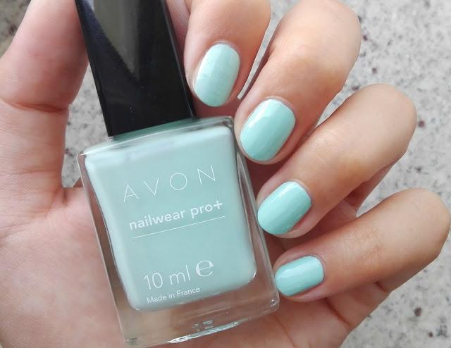Avon Nailwear Pro+ Minty Swatch