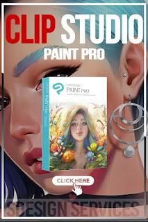 CLIP STUDIO PAINT PRO - NEW Branding - for Microsoft Windows and MacOS - Clip studio paint pro art