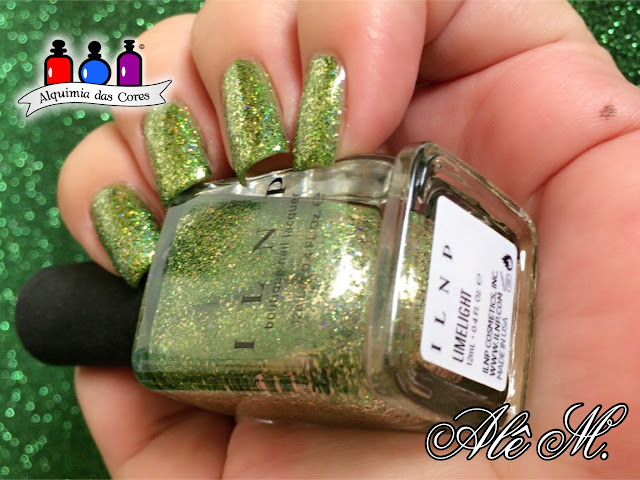 ILNP. Limelight, SB047, La Femme, Light Green, Holiday 2015 Collection, Alê M.