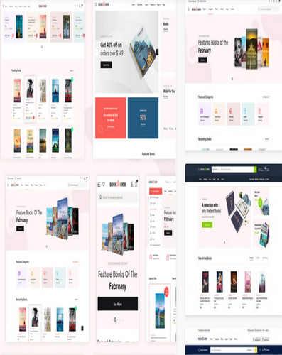 Theme bản quyền Wordpress bán sách,văn phòng phẩm  - Bookworm Bookstore & Bookshop WooCommerce Theme.