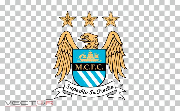 Manchester City FC (1997) Logo - Download .PNG (Portable Network Graphics) Transparent Images