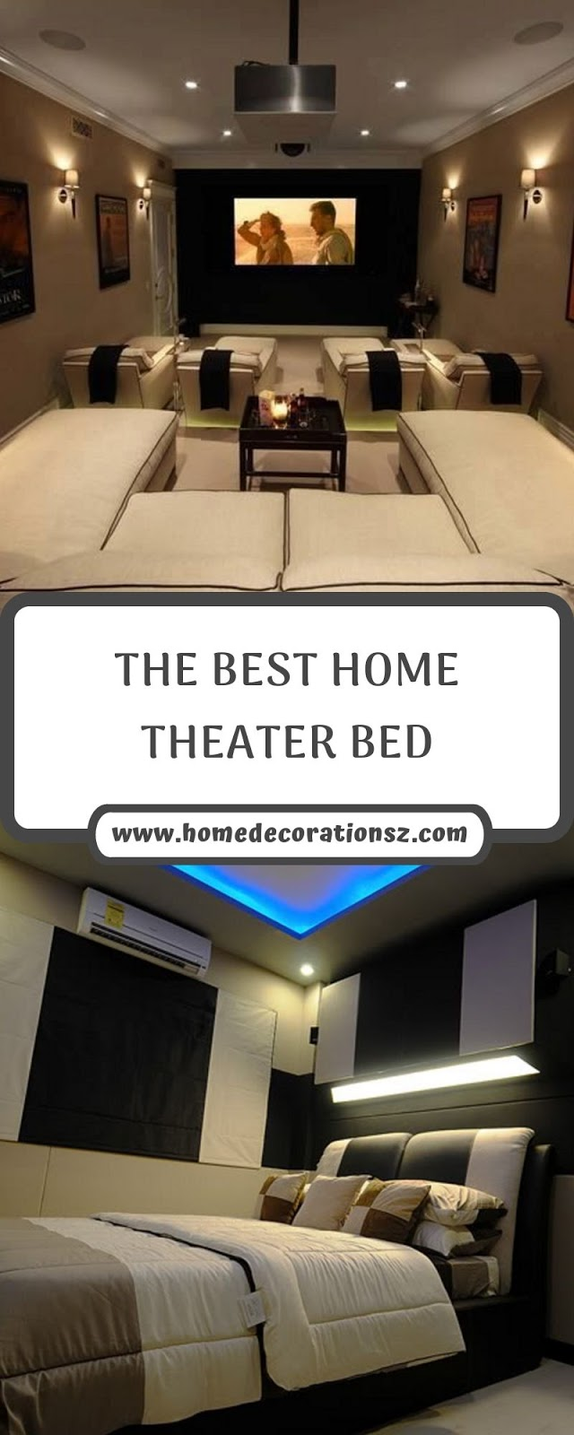 THE BEST HOME THEATER BED