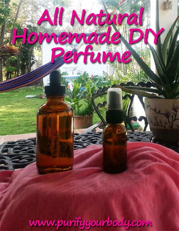 Purify Your Body Detox Foot Pads: DIY Perfume Using