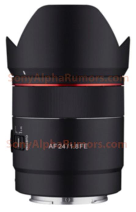 Samyang AF 24mm f/1.8 FE