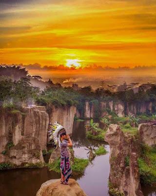 Kerennya Sunset Di Tebing Koja Tangerang