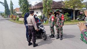 Sinergisitas Handal TNI Polri dan SKD Wilayah Tempursari Lumajang Percepat Penanganan Covid-19