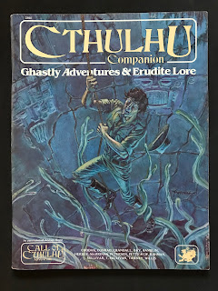 Cover of the Cthulhu Companion, published by Chaosium.