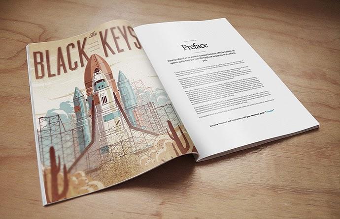 Magazine Mock-up PSD Template