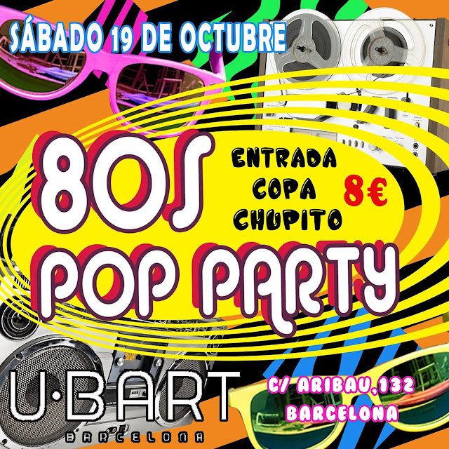 Flyer 80s Pop Party