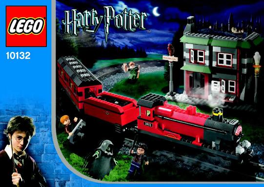 Lego Harry Potter Motorized Hogwarts Express Train Set (10132)